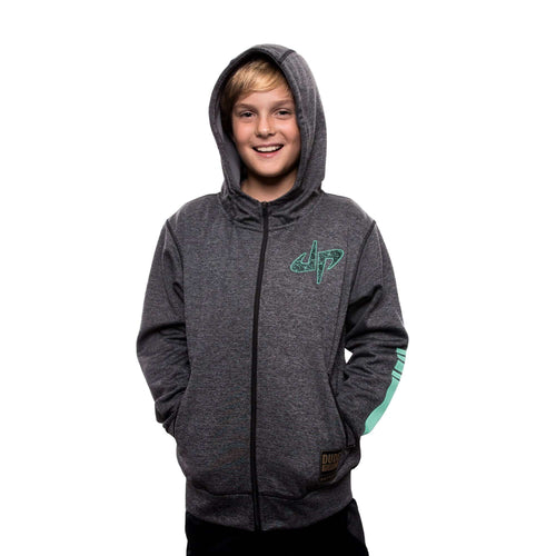 Youth Rivalry Full Zip Hoodie