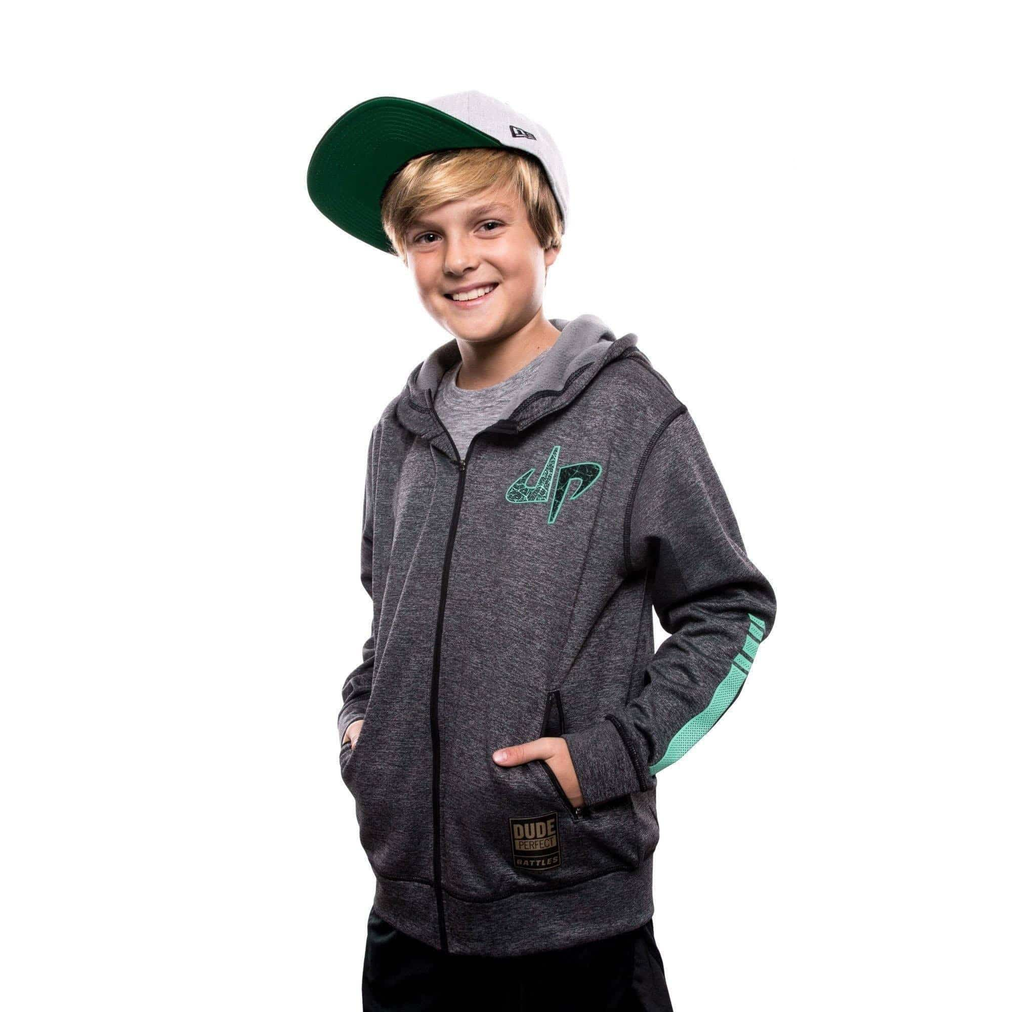 Youth Boys Girls Perfect-Dude Logo Hoodie and Sweatpants Pullover Suit 2 Piece Outfit Sweatshirt Set