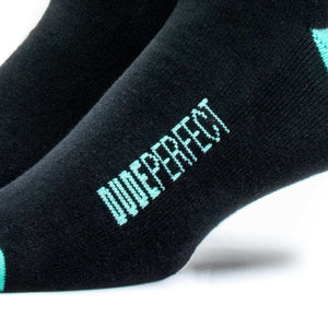 Youth Black // Green Socks