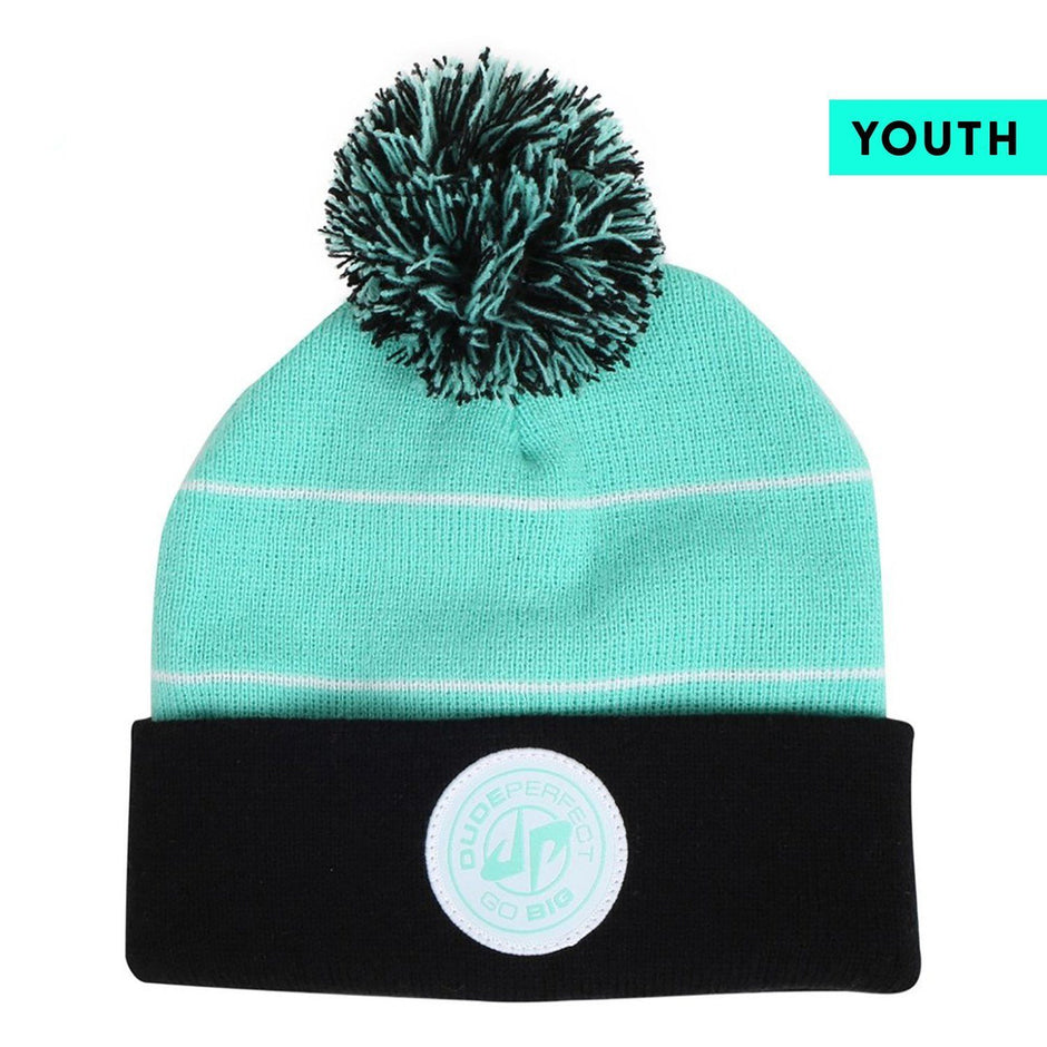 Dude Perfect Youth Poof Beanie