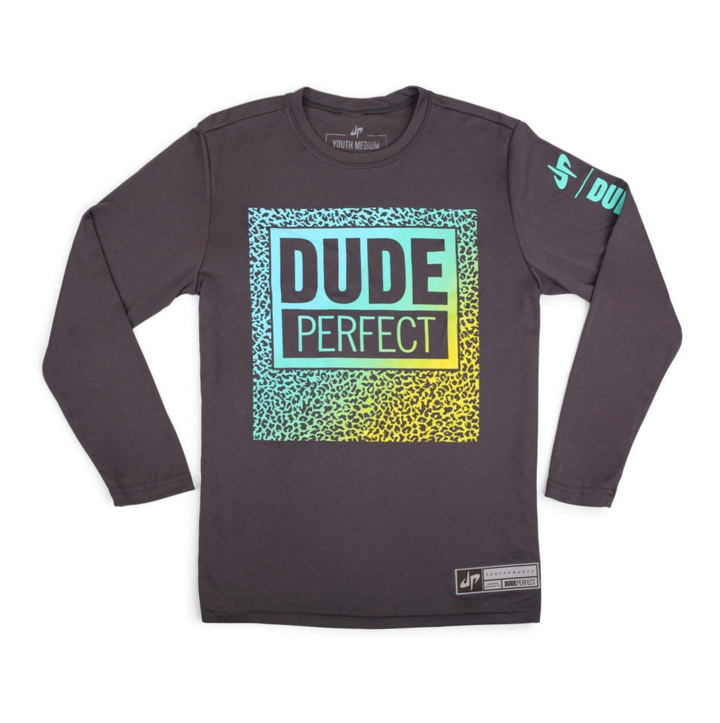 Youth Triple Threat Long Sleeve Performance Tee