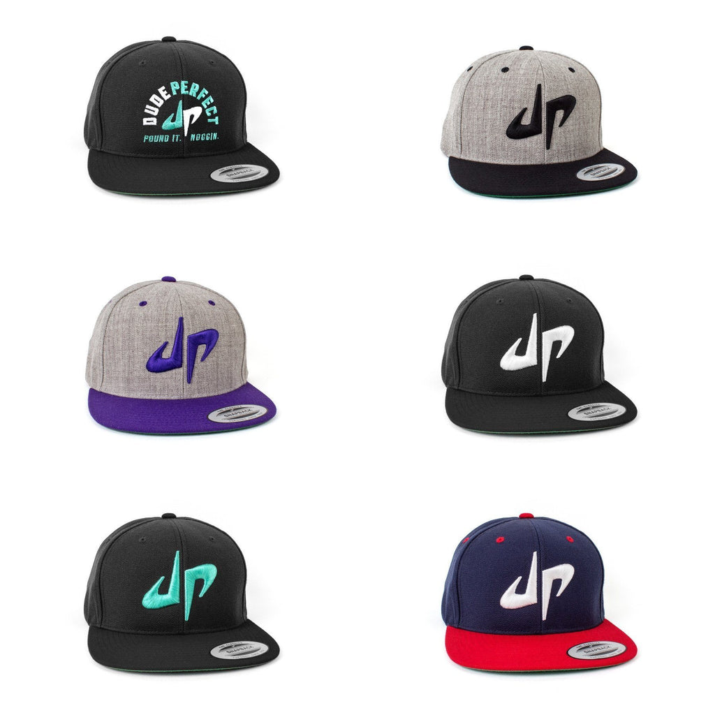 Ultimate Dude Perfect Snapback Bundle