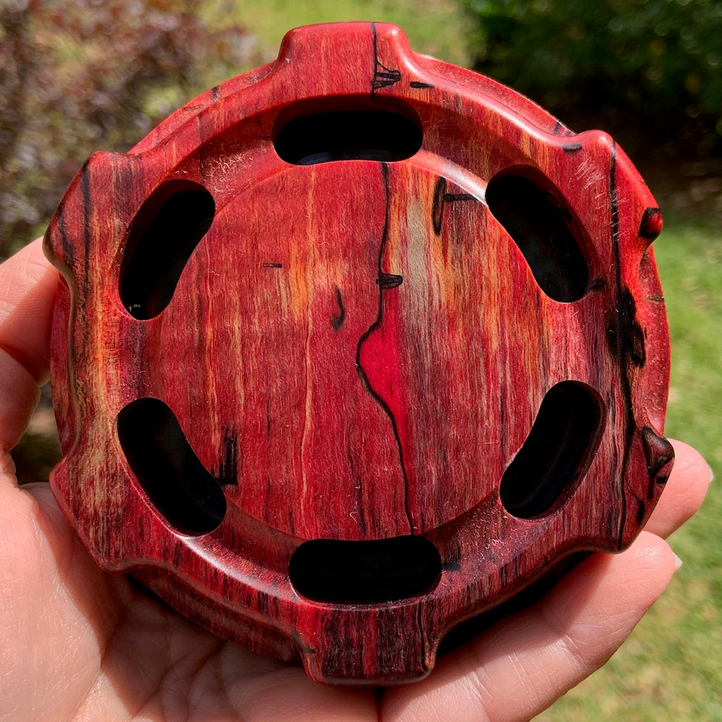 Turkey Call - Custom Shop - Classic - Red Spalted Maple, Slate/Glass 1046