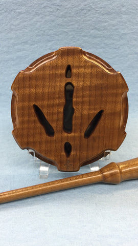Turkey Call - Turkey Track - Roasted Maple, Slate/Glass
