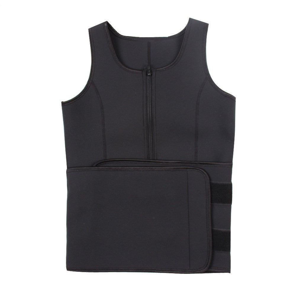 2 Piece EXTREME Upper Body Sweat Belt And Vest (Extremely Good For Melting Away Fat!)