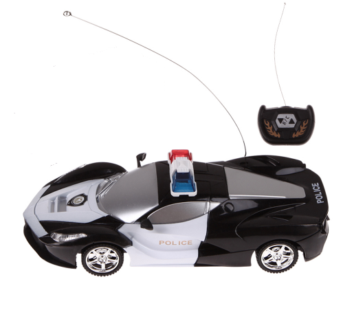 Drift RC Police Remote Control Racing Toy Car