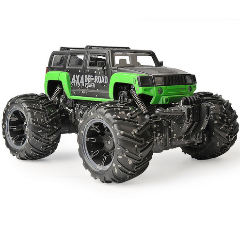 RC Dirt Bike 4 Wheel Drive Rock Crawler Toy Car