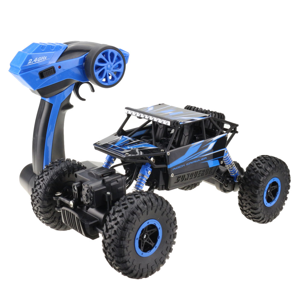 RC Rock Crawlers Rally Climbing Off-Road Vehicle-Perfect for Kids!