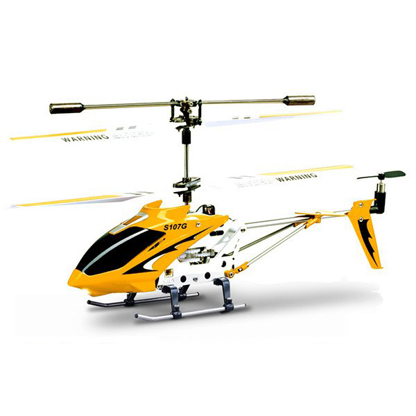 RC Mini Alloy Remote Control Helicopter in Red, Blue and Yellow