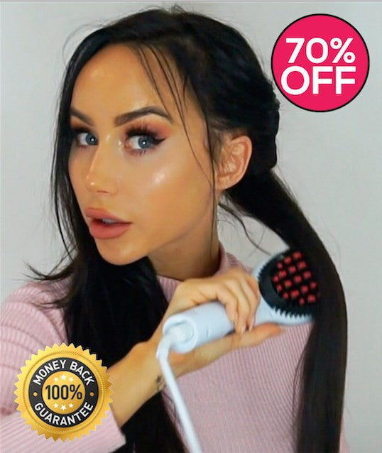 Get Rid Of Your Hair Straightener! This Brush Will Work Miracles On Your Hair! Normally $99 Yours Only $26!