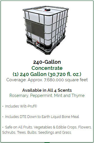 Animal Repellent 240 Gallon Bulk Concentrate
