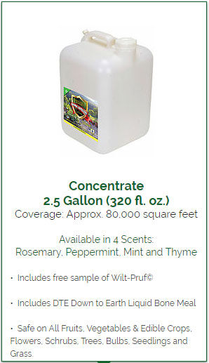 Animal Repellent 2.5 Gallon Bulk Concentrate