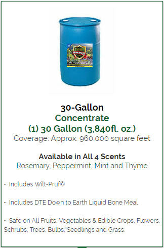 Animal Repellent 30 Gallon Bulk Concentrate