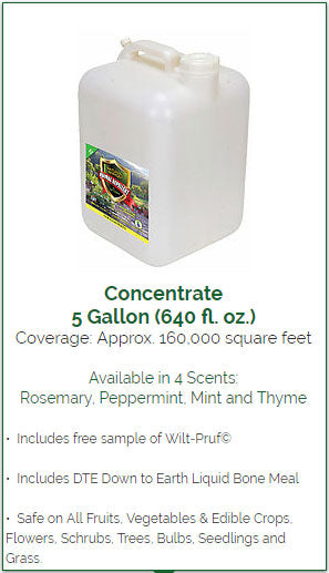 Animal Repellent 5 Gallon Bulk Concentrate