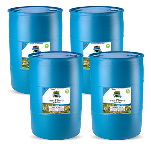 30% Vinegar - (4) 55 GALLON DRUMS