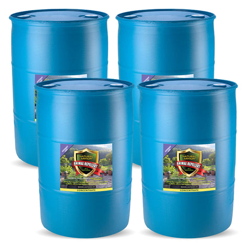 Animal Repellent –– Peppermint Scent (4) 55 GALLON DRUMS CONCENTRATE
