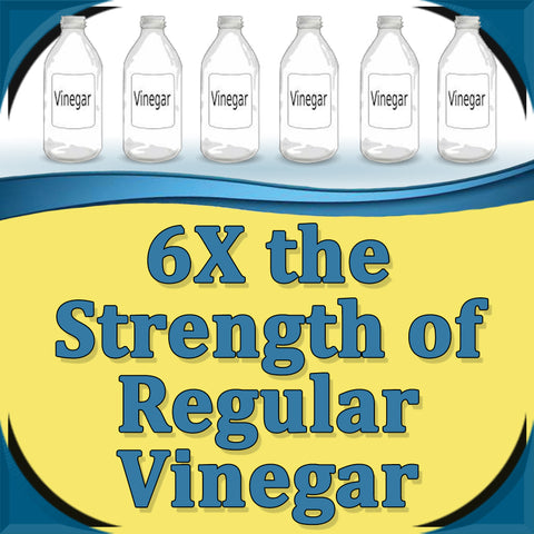 30% Vinegar - 2.5 GALLONS (320 oz)