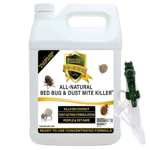 Bed Bug & Dust Mite Killer -- GALLON (128oz)