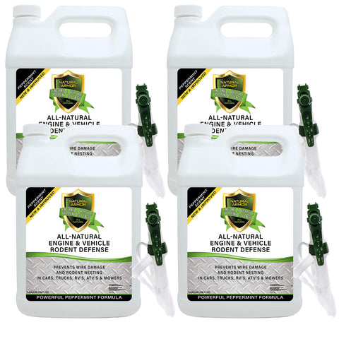 All-Natural Vehicle & Engine Protection - Case of (4) Gallons