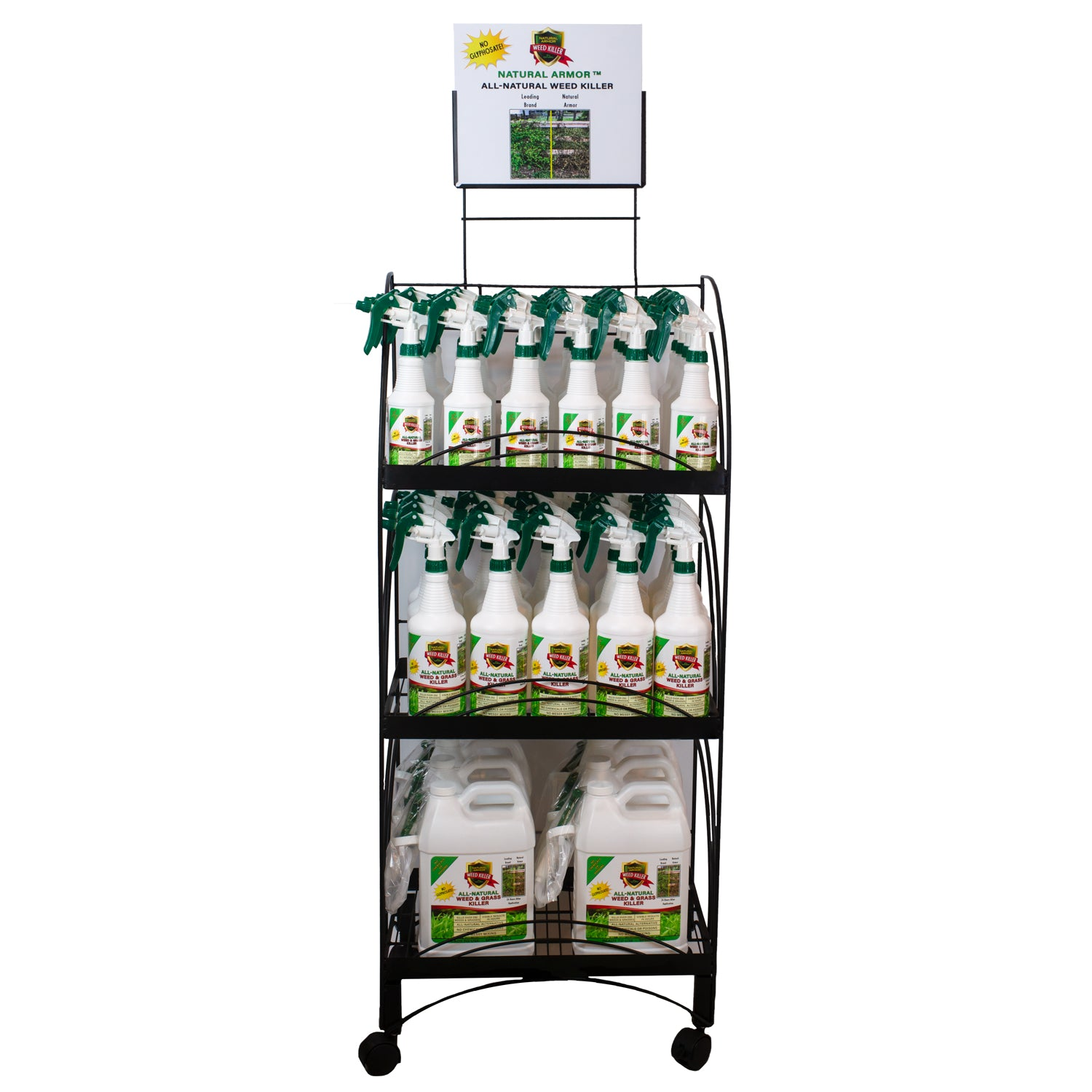 All-Natural Weed Killer Ready-to-Use — #1 Starter Rack