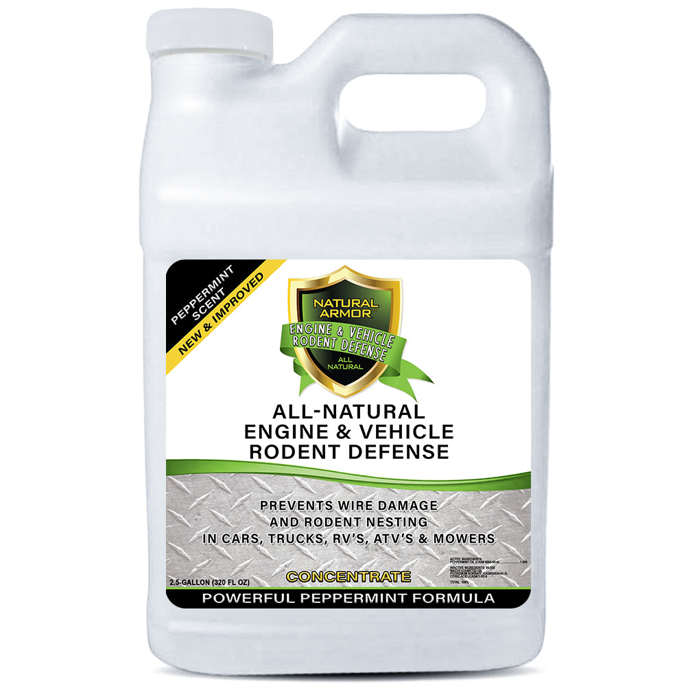 All-Natural Vehicle & Engine Protection - 7-1 Concentrate - 2.5 Gallons