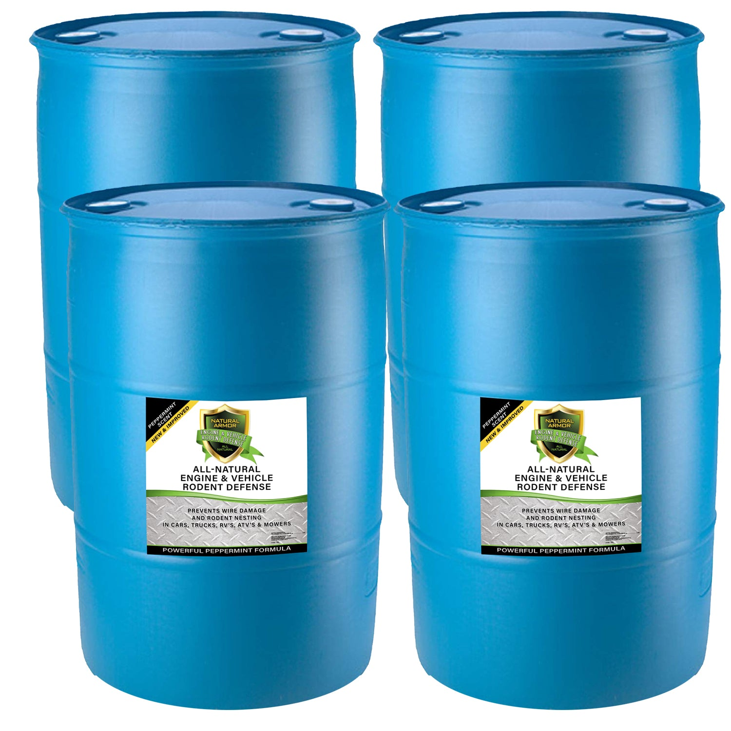 All-Natural Vehicle & Engine Protection - (4) 55 GALLON DRUMS