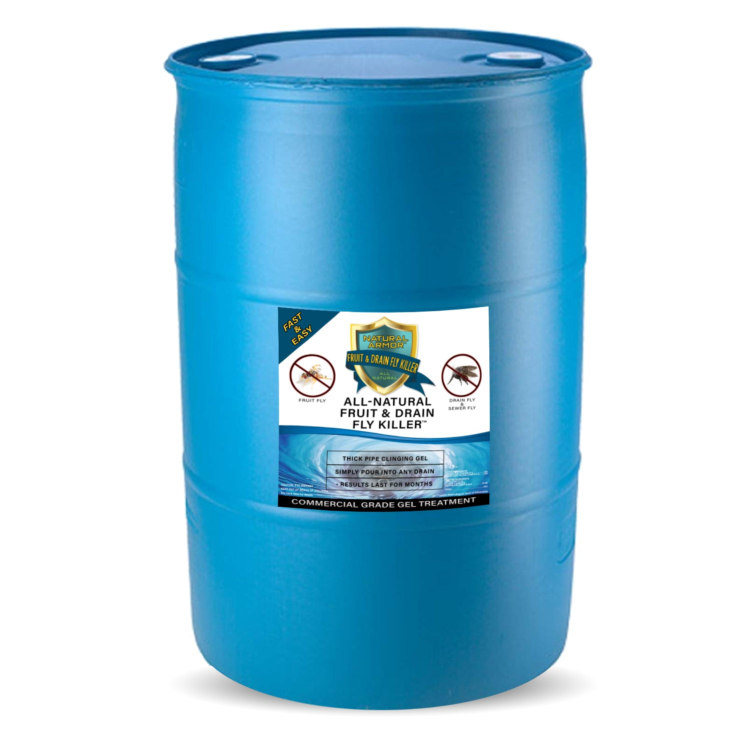 Fruit & Drain Fly Killer (1) 30 Gallon Drum