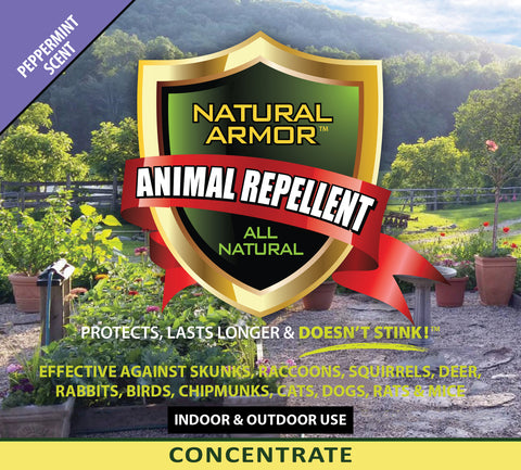 Animal Repellent - 7-1 Concentrate — Peppermint Scent - 2.5 Gallon