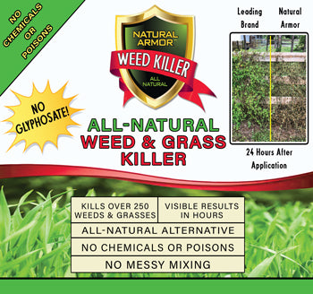 All-Natural Weed Killer Ready-to-Use — Case of (4) Gallon Refills