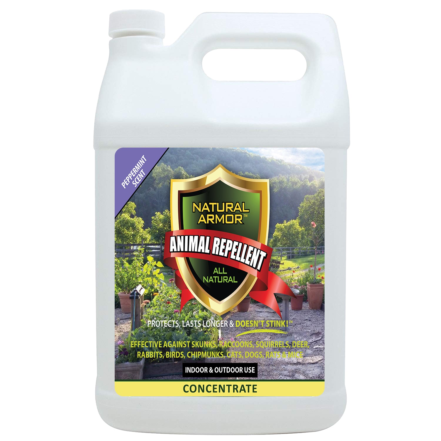 Animal Repellent - Peppermint Scent GALLON CONCENTRATE