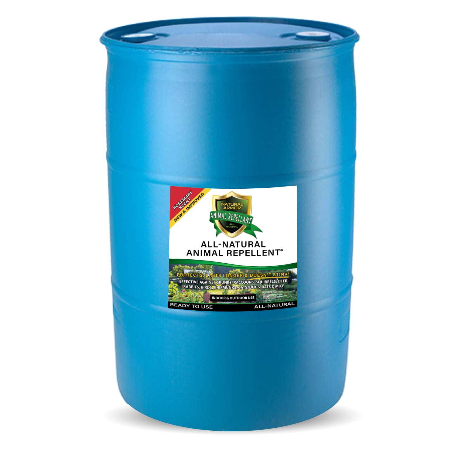 Animal Repellent - Ready to Use - Rosemary - (1) 55 Gallon Drum