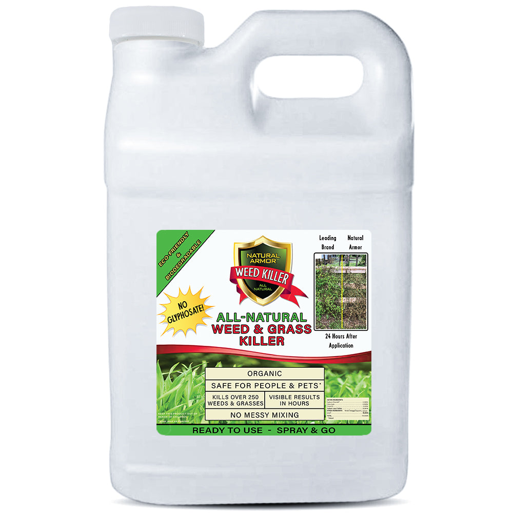 Natural Armor All-Natural Weed Killer — 2.5 Gallon — Ready-to-Use