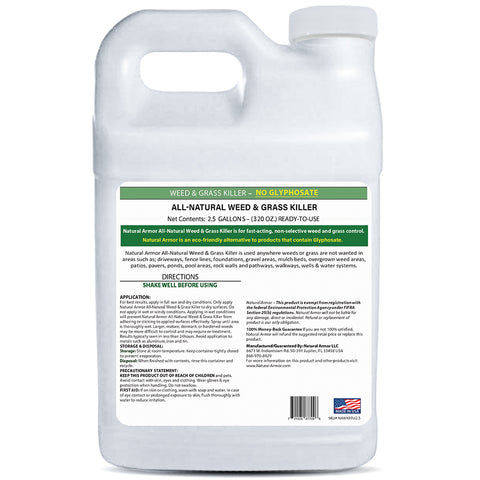 Natural Armor All-Natural Weed Killer - 2.5 GALLONS (320 Ounces)