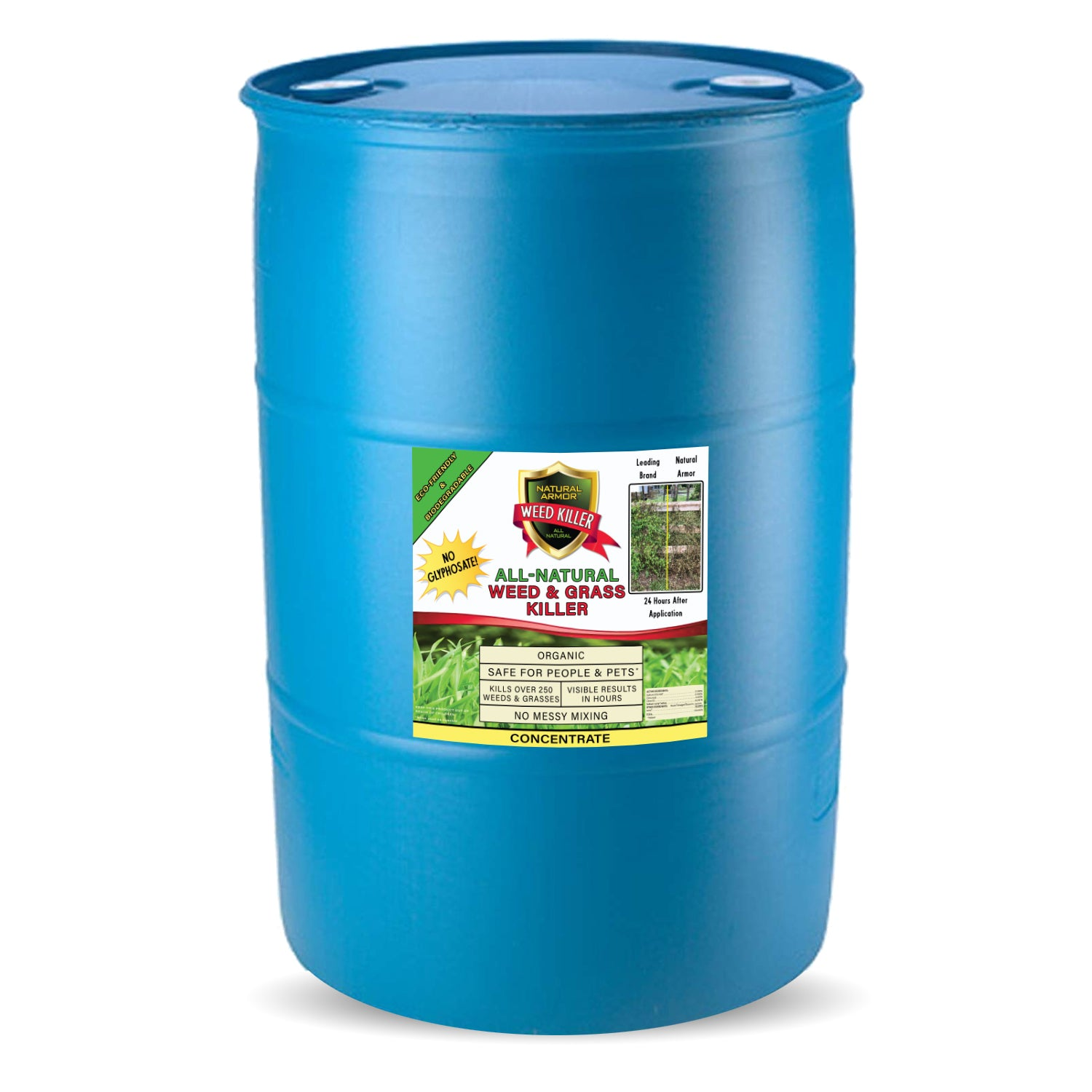 Natural Armor All-Natural Weed Killer — (1) 30 Gallons — 4-1 Concentrate