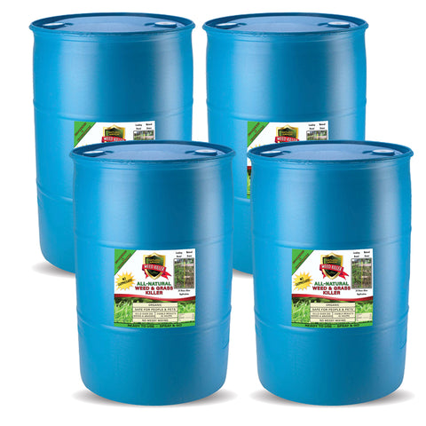Natural Armor All-Natural Weed Killer — (4) 55 Gallons - Ready to Use