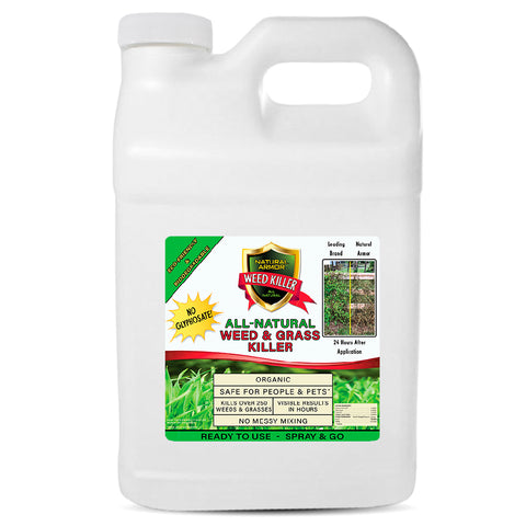 All-Natural Weed Killer - 2.5 GALLONS (320 Ounces)