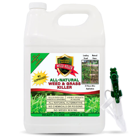 All-Natural Weed Killer - GALLON (128 oz.)