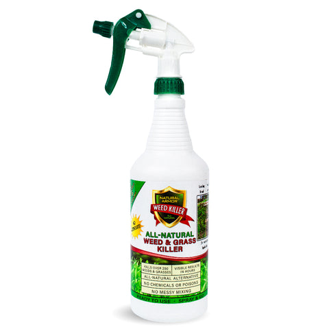 All-Natural Weed Killer - QUART (32 Ounces)