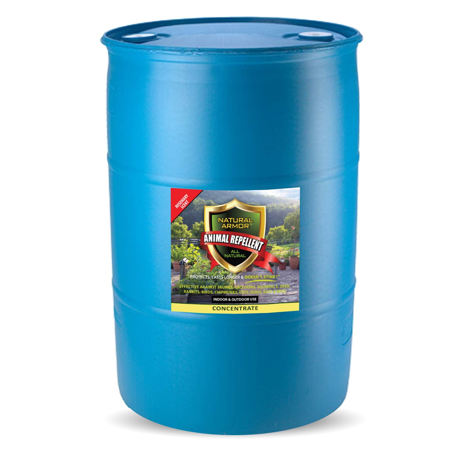 Animal Repellent ––– Rosemary Scent (1) 55 GALLON DRUM CONCENTRATE