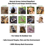 Natural Armor Animal Repellent - Ready to Use Spray, Quart Peppermint Scent