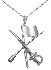 Color Guard / Winter Guard Jewelry Charm Necklaces