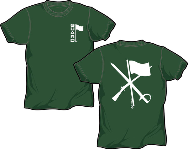 T Shirt for Color Guard or Winter Guard in Forest Green