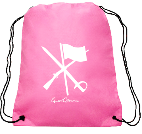 Color Guard Necklace - Flag Rifle Saber with Free Pink Backpack - ColorGuard Gifts - 2