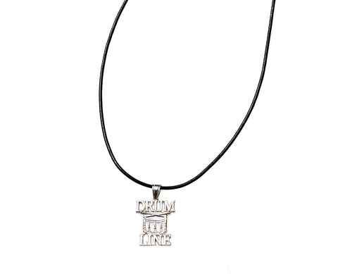 Drum Line Necklace | Sterling Silver - ColorGuard Gifts  - 1