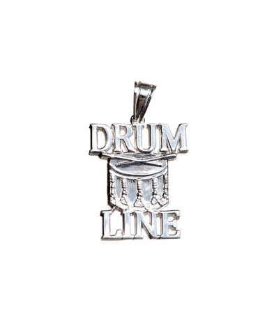 Drum Line Charm | Sterling Silver - ColorGuard Gifts