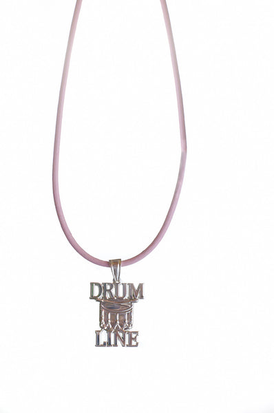 Drum Line Necklace | Sterling Silver - ColorGuard Gifts  - 3