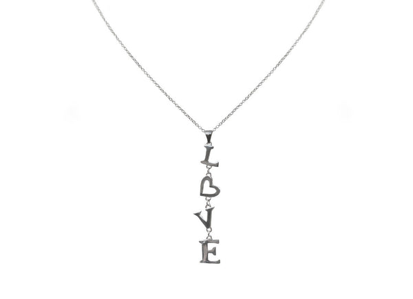 Falling in Love Charm Necklace | Sterling Silver - ColorGuard Gifts - 3
