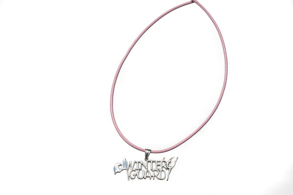 Winter Guard Necklace | Sterling Silver - ColorGuard Gifts - 2