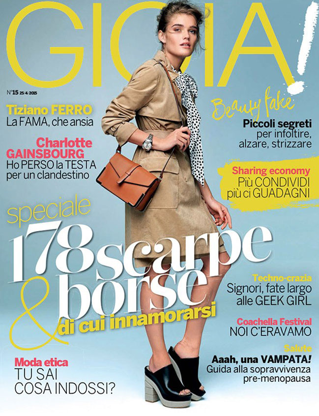 Gioia Magazine april 2015