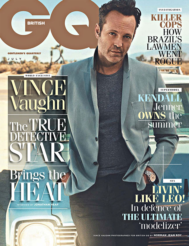 GQ JULY 2015 ISSUE